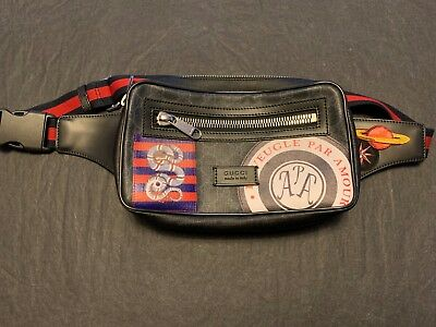 0862b469f NWOT GUCCI NIGHT Courrier Soft GG Supreme Belt Bag - $850.00 | PicClick