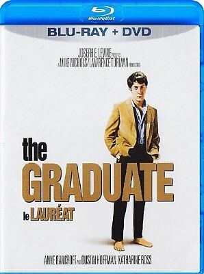THE GRADUATE BLU RAY + DVD Movie -Brand New & Sealed-Fast Ship! (HMV-125/HMV-16)