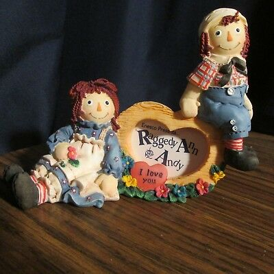 """Raggedy Ann and Andy """"Forever True""""   Enesco  ❤️"""