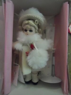Madame Alexander Porcelain Doll (Winter) #25865 with Box & Certificate