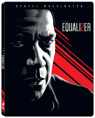 The Equalizer 2 (2018) (STEELBOOK) (Blu-ray) (Region Free) (Two Disc) (NEW)