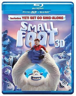 Smallfoot (Small Foot) (2018)(Blu-ray 3D + Blu-ray)(Region Free)(Two Disc)(NEW)