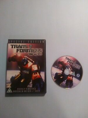 Transformers The Movie (DVD, 2007, Special Edition, Widescreen) PAL Region 2