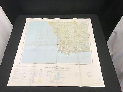 Cape Town Africa Map 1: 2,000,000 #42