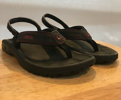 5af427ab8 OLUKAI BOYS BEACH Sandals Style PAHU Size 11 12 US 30 EUR in ...