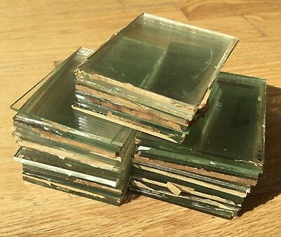 (20) Sheets of Original Glass For 1/6 Plate Daguerreotypes Ambrotypes Tintypes