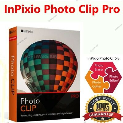 InPixio Photo Clip Professional 8.5 PRO Full Edition⭐Download link⭐serial key⭐