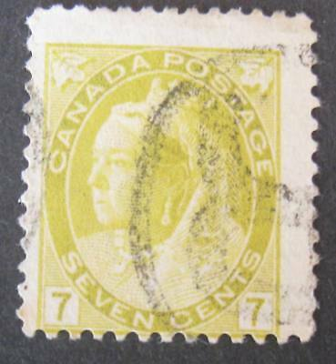 Canada #81 Used-2018 SCV=$22.50-Free Shipping