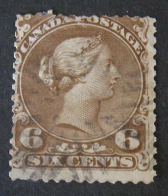 Canada #27 Used--2018 SCV=$140.00-Free Shipping