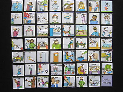 Actions Picture Cards  Autism/PECS/Non verbal/Early Yrs/Visual Aid/Dementia/EASL