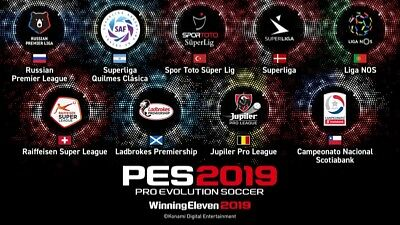 PATCH PES 2019 PS4 Option File con BUNDESLIGA,MLS,NAZIONALI ATTUALI&CLASSICHE