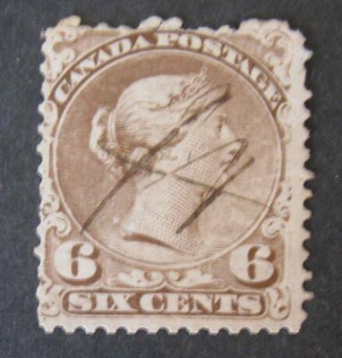 Canada #27 Used-2018 SCV=$140.00-Free Shipping