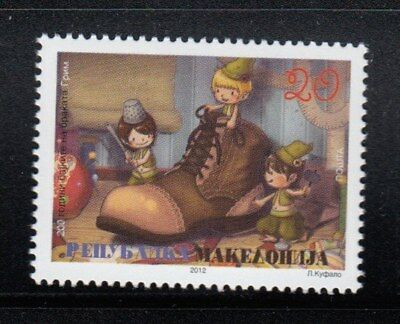 MACEDONIA Brother Grimm Fairy Tales MNH stamp