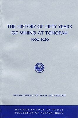 Tonopah NV, NONE BETTER, only 2000 printed, 1st ed mining book, author was miner