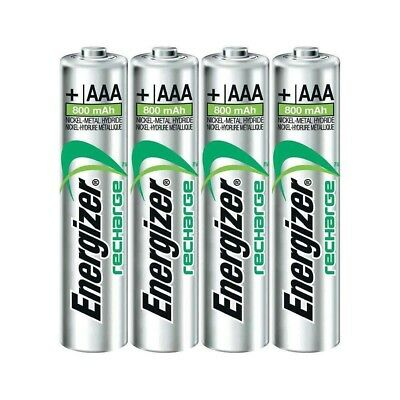 Energizer Recharge Extreme Heavy Duty AAA Rechargeable Batteries - 4 Pack