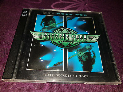 CD Classic Rock / We Will Rock you - Album 2Cds 1996 - Time Life