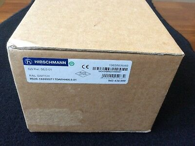 Hirschmann Rs20-1600S2T1Tdaehh06.0.03 Ethernet Rail Switch Rs20