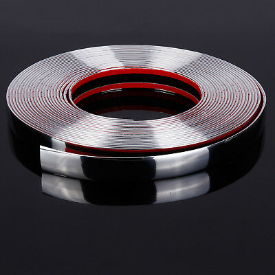 20MM*15M chrome styling moulage bordure bande autocollante voiture caravane