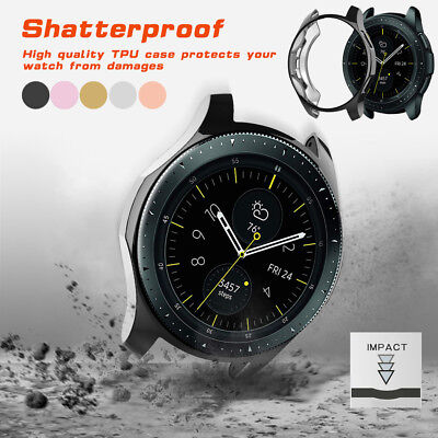 Ultra-thin TPU Plating Protection Case Cover For Samsung Galaxy Watch 42/46mm