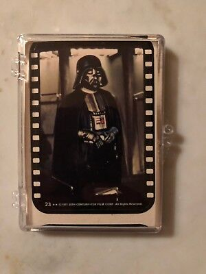1977 Topps Star Wars Yellow 3rd Series Complete 11-Sticker Set #23-33