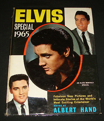 ELVIS PRESLEY SPECIAL 1965  ANNUAL BOOK HARDCOVER 110 pages