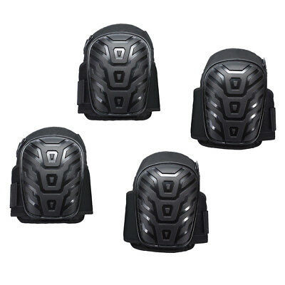4PC Heavy Duty Gel Filled Knee Pads Protector Safety Quick Release Work Wear
