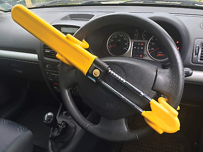 Streetwize Heavy Duty Car Van Steering Wheel Lock High Security Anti Theft...
