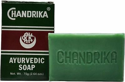 Chandrika: Ayurvedic Soap, 75 gm - Free Shipping