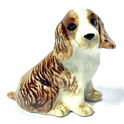 Miniature Cavalier King Charles Spaniel Statue Dogs Animal Figurine Collectibles