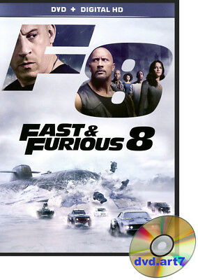 DVD : FAST & FURIOUS 8 - Vin Diesel - Dwayne Johnson - Charlize Theron