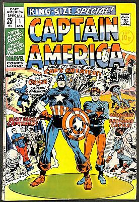 Captain America King-Size Special #1 GD+
