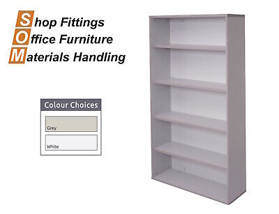 Rapidline Rapid Vibe Bookcase Grey Office Furniture