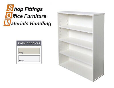 Rapidline Rapid Vibe Bookcase White Office Furniture