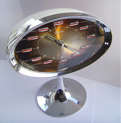 Vintage / Retro - Rhythm - Mechanical - Space Age - Rare - Alarm Clock