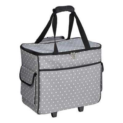 NEW Semco Quilted Trolley Bag By Spotlight