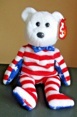 Collectible Original Ty Beanie Babies LIBERTY Pellets - Retired