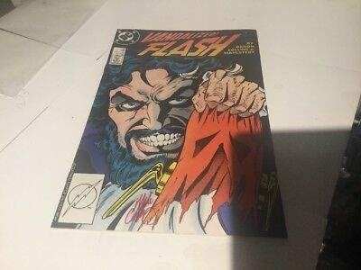 DC Comics Flash #14 Signed by Mike Collins W/COA