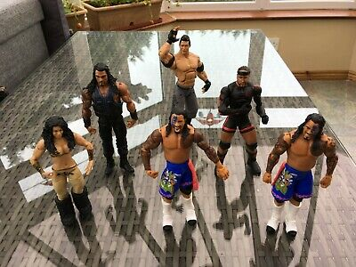 New Stock! WWE Wrestling Figures - Cheap P&P