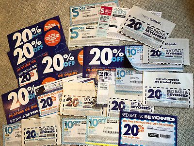 Bed Bath And Beyond 23 Coupons 20% Off $5 Off $10 Off 20% off ENTIRE ship fast!