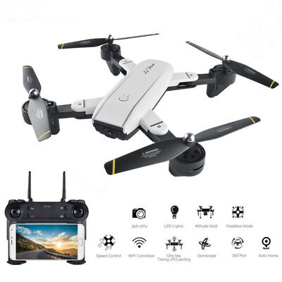 Selfie Drone Qudacopter FHD 200W Dual Camera Upgraded Optical Flow Positioning