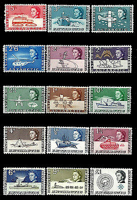 British Antarctic  Territory. First Issue. Very Rare! 1963. Scott 1-15. MNH (38)