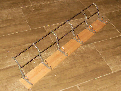 Victorian Era Gingerbread Style Cast Iron shelf System together antique 1900s