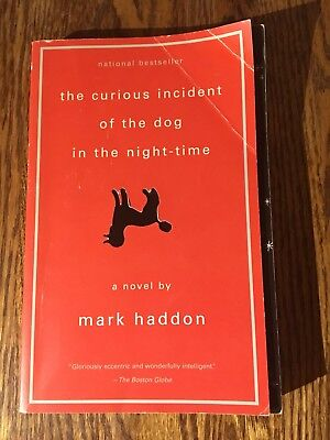 THE CURIOUS INCIDENT OF THE DOG IN THE NIGHT-TIME by Mark Haddon 2004 softcover