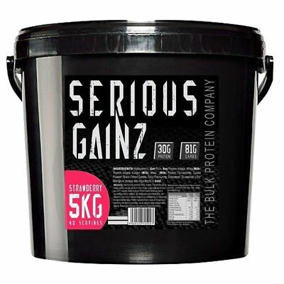 Weight Muscle Gainer Whey Protien Protein Powder Shake Protine Suplaments 5KG