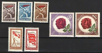 SALE ! - Hungary 1959. 3 different complete sets, MNH (**)