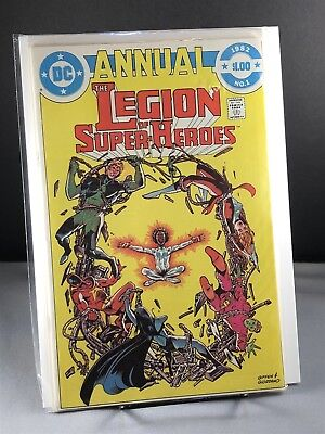 The Legion of Super-Heroes (2nd Series) Annual #1 *FN Condition*
