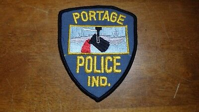 Portage Indiana  Police  Department Obsolete  Patch Bx B #15