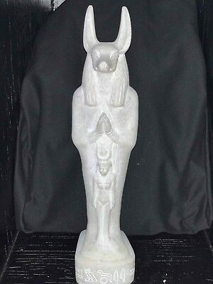 ANUBIS * Large * Collectible * Egyptian * Statue * Made In Egypt * Rare & Unique