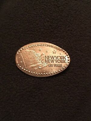 Souvenir Pressed Penny Pressmünze New York New York #2 Las Vegas Nevada USA