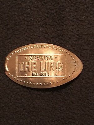 Souvenir Pressed Penny Pressmünze The LINQ #3 Las Vegas Nevada USA
